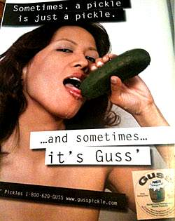 guss pickle advertisement
