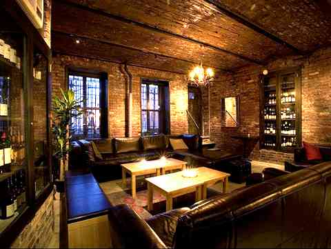 interior of the warm environment of Jadis on Rivington Street